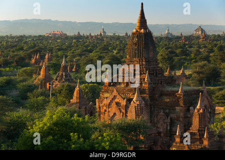 the Temples of Bagan, Myanmar (Burma) - Stock Photo