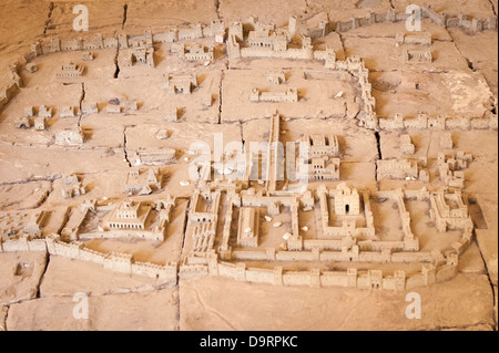 Israel Jerusalem 2nd Station of Cross Via Dolorosa Chapel of the Condemnation said site of trial of Jesus - model - Stock Photo