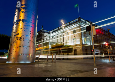 General Post Office and the spike, O'Connell Street, Dublin. - Stock Photo