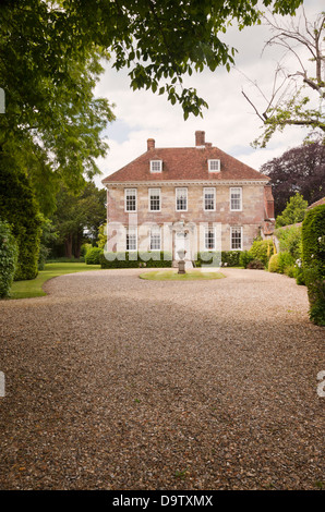 Arundells, home of former Prime Minister Sir Edward Heath, Cathedral Close, Salisbury, Wiltshire, England, UK - Stock Photo