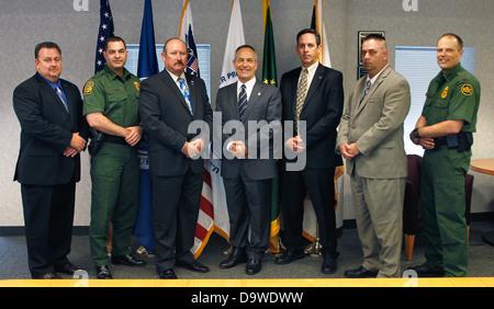 Border Patrol Chief Michael Fisher & National Border Patrol Counsel