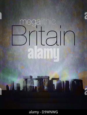GB - WILTSHIRE: Megalithic Britain Design - Stock Photo