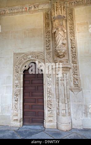 TOLEDO - MARCH 8: Portal atrium in Monasterio San Juan de los Reyes - Stock Photo