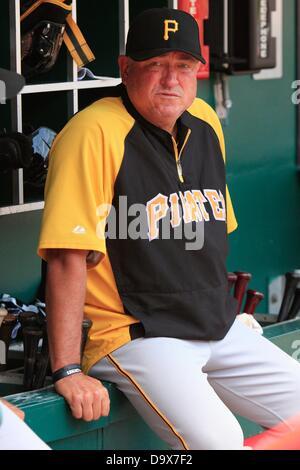 June 20, 2013 - Cincinnati, OH, United States of America - June 20, 2013 Cincinnati, OH..Pittsburgh Pirates manager - Stock Photo