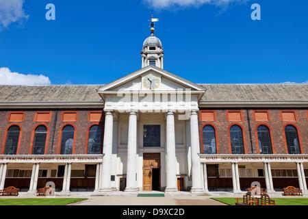 UK, England, London, Chelsea, The Royal Hospital - Stock Photo