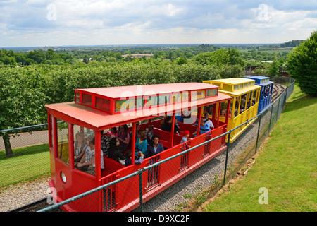 Hill train at Legoland Windsor Resort, Windsor, Berkshire, England, United Kingdom - Stock Photo