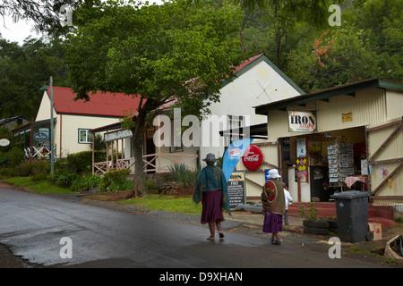 Historic village of Pilgrim's Rest, near Graskop, Mpumalanga province, South Africa - Stock Photo