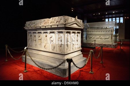 Turkey, Istanbul, Archaeological Museum in Topkapi palace - Stock Photo