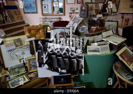 Churchill Memorabilia Collection under threat at Bletchley Park, Milton Keynes, Buckinghamshire, England, home of - Stock Photo