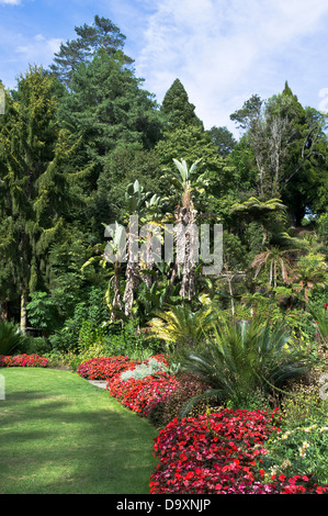 dh Pukekura Park NEW PLYMOUTH NEW ZEALAND Botanic gardens flowers and tree parkland