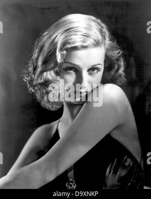 JOAN BENNETT (1910-1990) US film actress about 1940 - Stock Photo