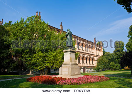 Museum of natural history,Milan,Lombardy,Italy - Stock Photo