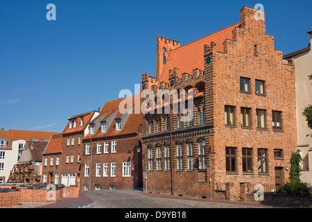 Europe, Germany, Mecklenburg-Western Pomerania, Wismar, Archidiakonat - Stock Photo