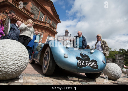 Dorothy's car designed by Rex McCandless at Cultra Hill Climb, Holywood, Co. Down, Northern Ireland - Stock Photo