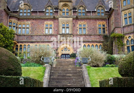 Knightshayes Court country house in Devon, England, UK - Stock Photo
