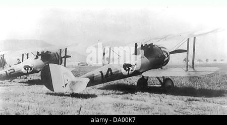 95th Aero Squadron - Nieuport 28 -3 - Stock Photo