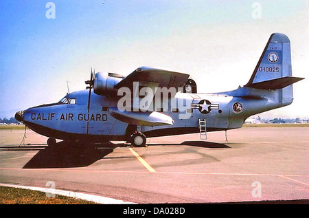 129th Air Commando Squadron - Grumman SA-16A Albatross 51-0025 - Stock Photo