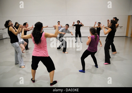 BARCELONA - MAR 3: Actors play Commedia dell'arte on March 3, 2011 in Barcelona, Spain. - Stock Photo