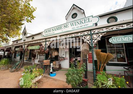 Oom Samie se Winkel, Dorp Street, Stellenbosch, South Africa - Stock Photo