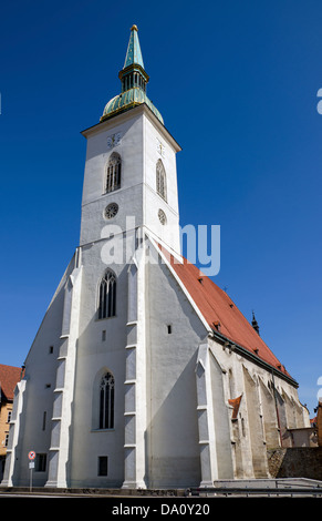 St. Martins cathedral in Bratislava, Slovakia - Stock Photo