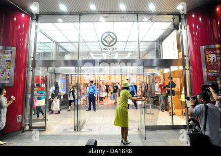 June 30th, 2013 : Tokyo, Japan - Matsuzakaya Ginza, the first department store since 1924 in Ginza, Chuo, Tokyo, - Stock Photo