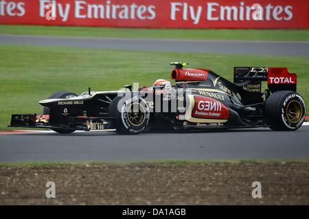 F1 British Grand Prix, Silverstone - Stock Photo