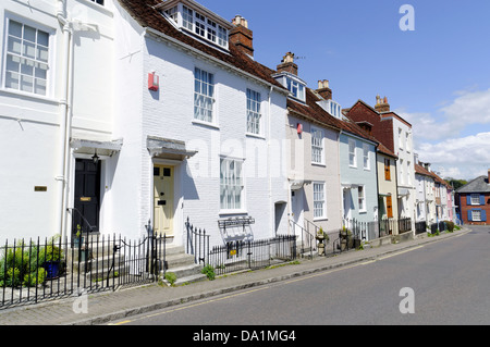 Nelsons Place, Lymington, Hampshire, England - Stock Photo