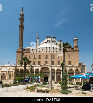 Mosque of Muhammad Ali in Saladin Citadel, Cairo, Egypt. - Stock Photo