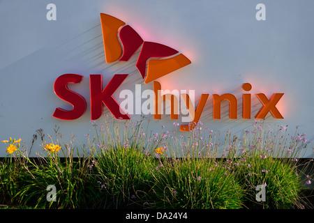 SK Hynix Inc. Headquarters, Santa Clara CA - Stock Photo