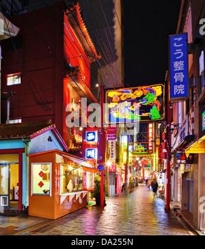 Chinatown in Nagasaki, Japan.