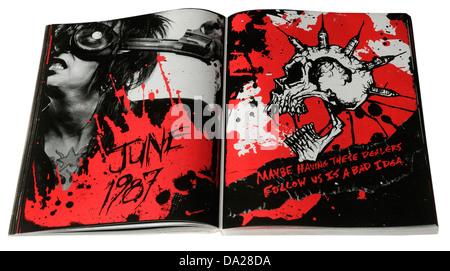 The Heroin Diaries by Nikki Sixx - Stock Photo