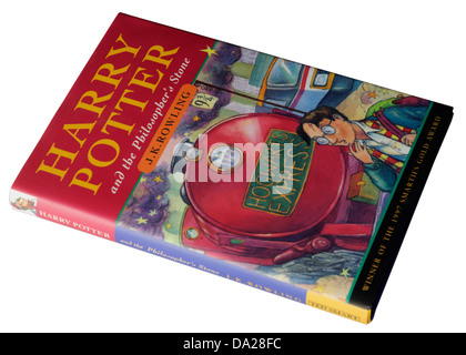 The 1st Harry Potter book Harry Potter and the Philosopher's Stone - Stock Photo