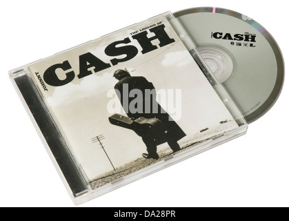 The Legend of Johnny Cash CD - Stock Photo