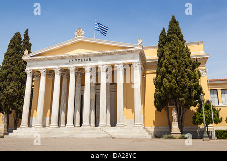 Zappeion Exhibition and Congress Hall, in the National Gardens, Athens, Greece - Stock Photo