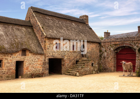 Hamptonne Country Life Museum, Jersey, United Kingdom - Stock Photo