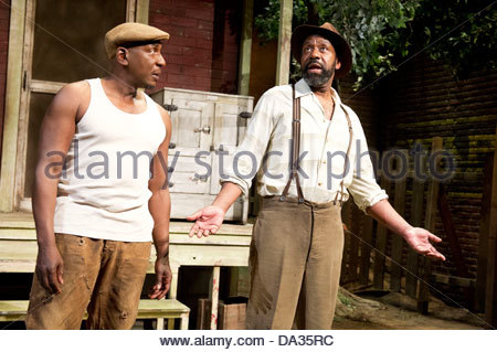 Fences by August Wilson . A Theatre Royal Bath production directed by Paulette Randall. With Colin McFarlane as - Stock Photo