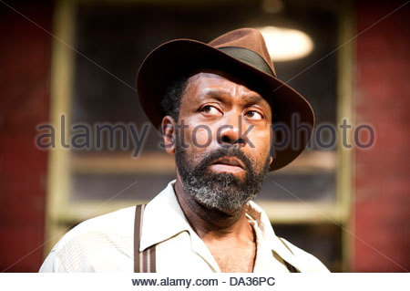 Fences by August Wilson . A Theatre Royal Bath production directed by Paulette Randall. With Lenny Henry as Troy - Stock Photo