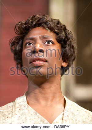 Fences by August Wilson . A Theatre Royal Bath production directed by Paulette Randall. With Tanya Moodie as Rose. - Stock Photo