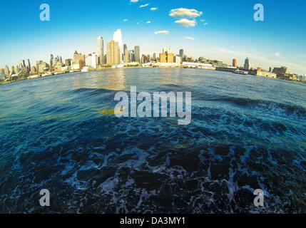 Manhattan Skyline on Hudson