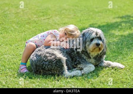 Big And Little Girl Cuddling Stock Photo 27836921 Alamy
