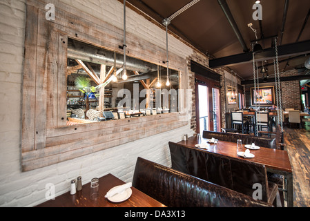 The interior of virtue feed and grain a restaurant and tavern in old stock photo 57863930 alamy for Interior design old town alexandria