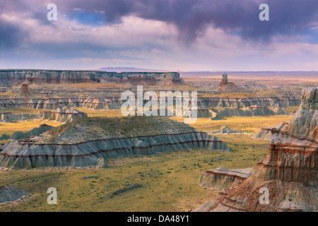 Ha Ho No Geh Canyon, in the north eastern part of Arizona near Tuba City, USA - Stock Photo
