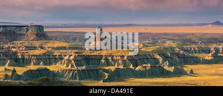Ha Ho No Geh Canyon, in the north eastern part of Arizona near Tuba City, USA - Stock Photo