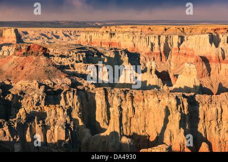 Coal Mine Canyon, in the north eastern part of Arizona near Tuba City, USA - Stock Photo