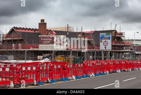 Malverns Pubs And Taverns Under Construction By Wildgoose