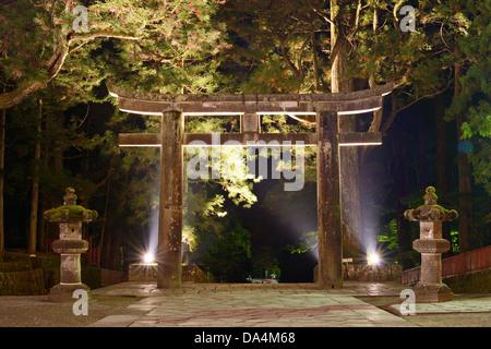 The ishidori is a stone tori gate at Tosho-gu Shrine in Nikko, Japan.