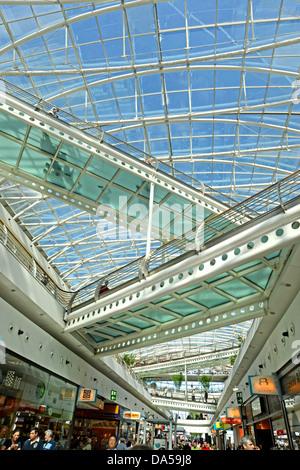 Vasco da Gama shopping mall Parque das Nacoes Lisbon Portugal - Stock Photo