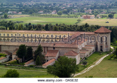 san lorenzo charterhouse,padula,vallo di diano,campania,italy - Stock Photo