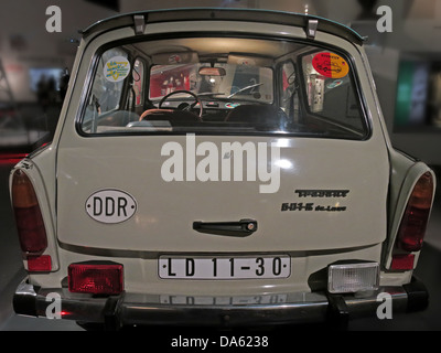 A Trabant car from the DDR - Stock Photo