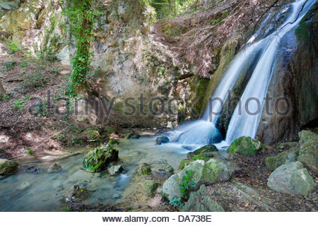 pale fall,foligno,umbria,italy - Stock Photo
